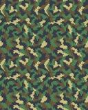 Digital camouflage seamless Stock Photo