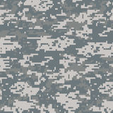Digital Camouflage Seamless Pattern Stock Images