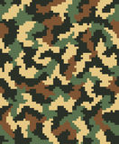 Digital camouflage 2 Royalty Free Stock Photo