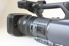 Digital cassette camcorder Stock Image