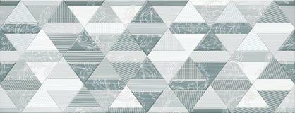Digital ceramic tile design Royalty Free Stock Photography