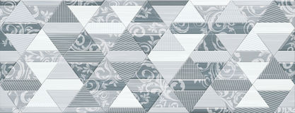 Digital ceramic tile design. Colorful ceramic wall tiles decoration Stock Photography