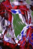 Digital changée, micrographe abstrait de soie d'araignée d'un Web Photographie stock libre de droits