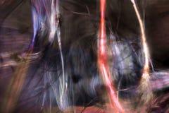 Digital changée, micrographe abstrait de soie d'araignée d'un Web Images stock