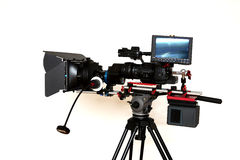 Digital Cinema Camera Royalty Free Stock Image