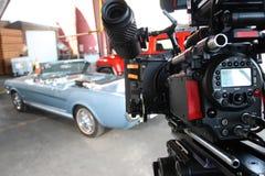 Digital cinema camera stock image