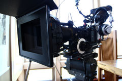 Digital cinema camera Royalty Free Stock Photo