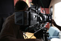 Digital Cinema Camera Stock Photos