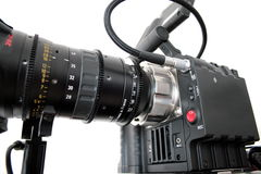 Digital cinema camera Stock Images