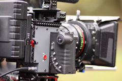 Digital cinema camera Royalty Free Stock Photography
