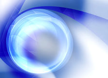 Digital circle background Stock Image