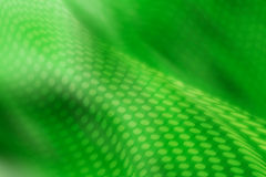 Digital circles. Waves from circles on a green background stock illustration
