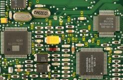 Digital Circuit. Close up of a digital circuit Stock Images