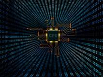 Digital Circuit stock illustration