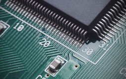 Digital circuit board Royalty Free Stock Photo