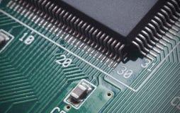 Digital circuit board Royalty Free Stock Photo