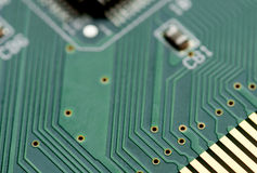 Digital circuit board Stock Image