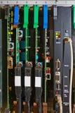 Digital circuits in slots Stock Photos