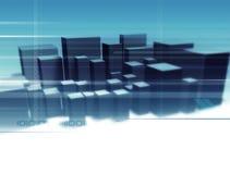 Digital City royalty free stock photo