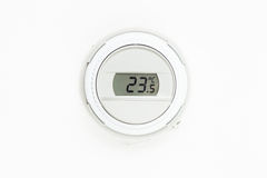 Digital climate thermostat Stock Photography
