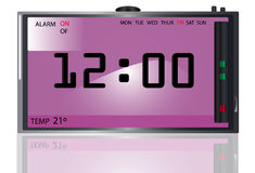 Digital Clock Stock Image