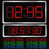 Digital clock Stock Photography