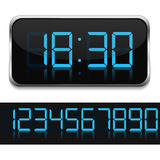 Digital Clock Royalty Free Stock Photography