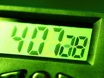 Digital clock Stock Photo