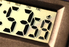 Digital clock Stock Images