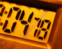 Digital clock Royalty Free Stock Images