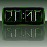 Digital Clock . Digital Uhr Nummer Royalty Free Stock Photo