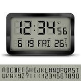 Digital clock Royalty Free Stock Photos