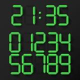 Digital Clock Numbers Stock Images