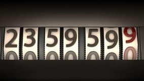 Digital clock Royalty Free Stock Photos