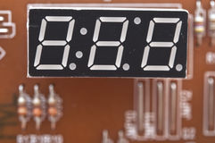 Digital clock Royalty Free Stock Image