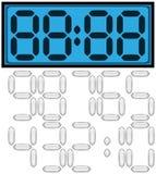 Digital clock Royalty Free Stock Image