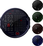 Digital Clocks Royalty Free Stock Photography