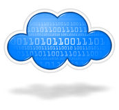 Digital cloud Royalty Free Stock Photography