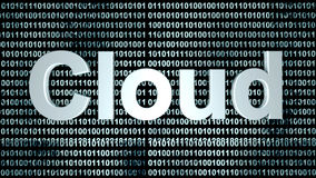 Digital Cloud Stock Photo
