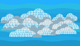 Digital cloud Royalty Free Stock Photo