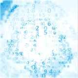 Digital code background Stock Photography
