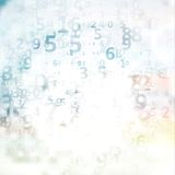 Digital code background Royalty Free Stock Image