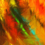 Digital colorful painting Stock Photography