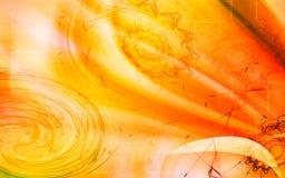 Digital colour background Stock Image