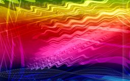 Digital colours background Stock Photography