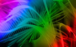 Digital colours background Stock Image