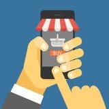 Digital commerce illustration Stock Photography