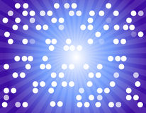 Digital communication background. Close up of the digital communication signal  by showing many dots Royalty Free Stock Photos