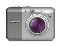 Digital Compact Camera Royalty Free Stock Photography