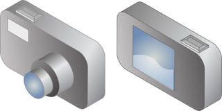 Digital compact camera  Stock Images